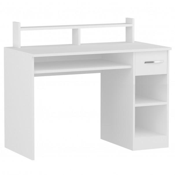 Sconto PC stůl ESLEM bílá