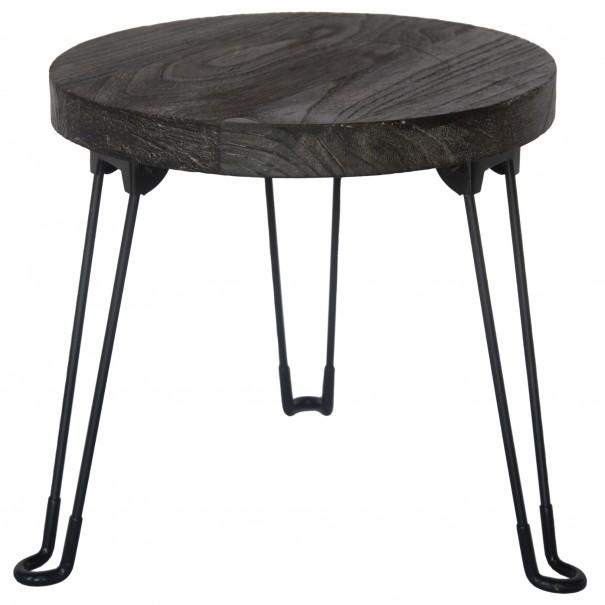 Sconto Odkládací stolek NAMUS pavlovnie/šedá